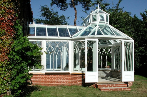 Victorian Conservatory P-shaped