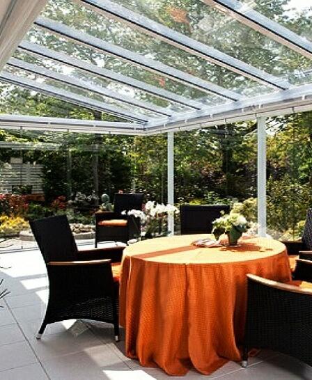 veranda conservatory lean to