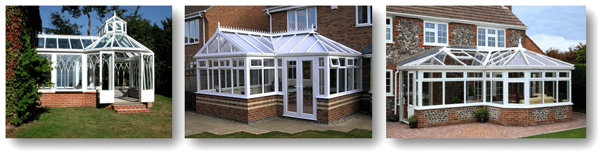 P, T & L Shape Conservatories