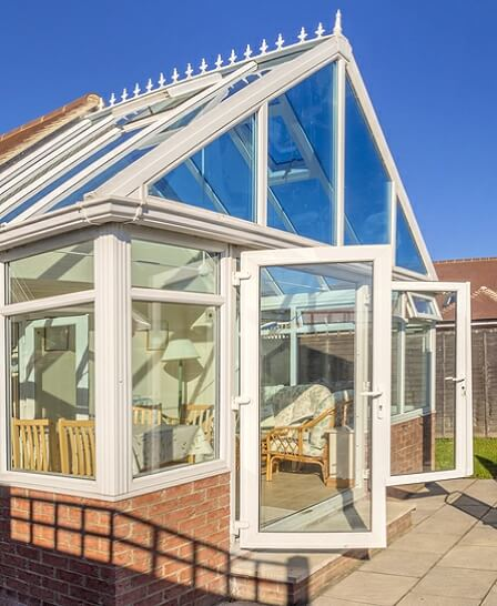conservatory gable roof