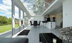 Full Glass Contemporary Conservatory
