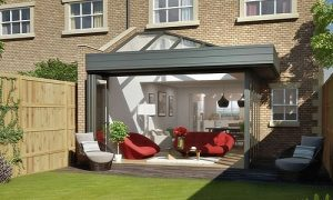 Large moderns conservatories