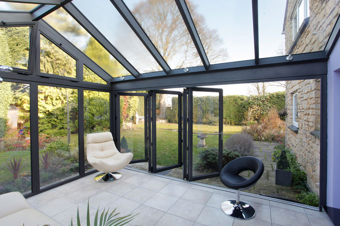 Modern conservatories modern conservatory prices for Modern house price