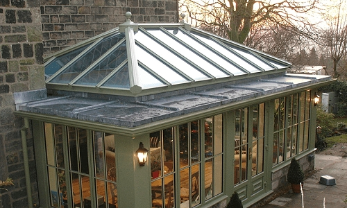 Lead roofed orangery m